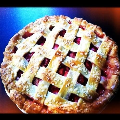 Double-Crusted Buttermilk Pie Recipe — Dishmaps