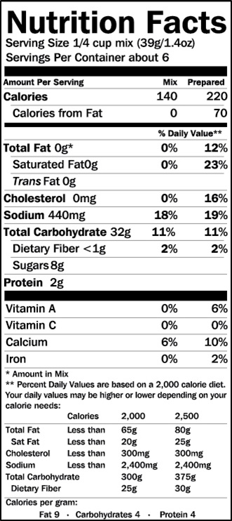 Calories in Waffle Crisp Cereal | Nutrition Facts
