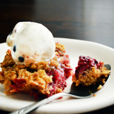 Cup4Cup Gluten-free Mixed Berry Crisp